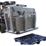 Forklift biriktirma beton blokli qisqich 3-sinf & amp;#038;