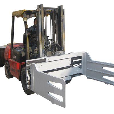 Forklift bilan aylanuvchi fork yuk mashinasi