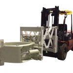 Forkliftli shinalarni boshqarish uchun biriktirma teleskopik shinalar