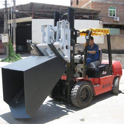 3 tonna Hyundai Diesel Forklift Attachment Bucket Menteşeli vilkalar va chelak